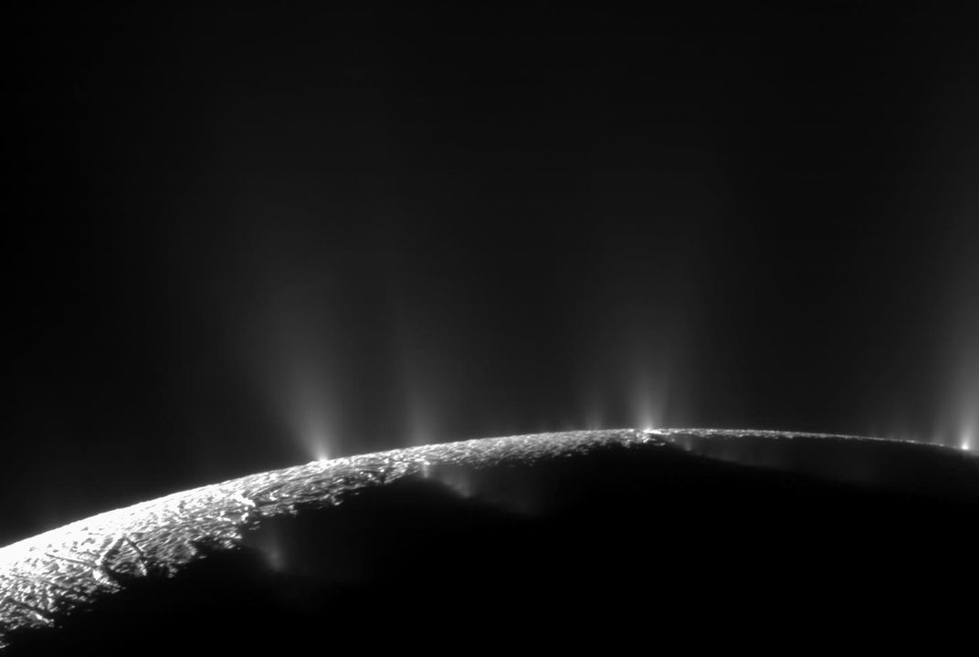 New Organic Compounds Found in Plumes From Saturn's Icy Moon Enceladus