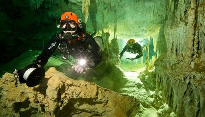 World's Largest Underwater Cave System Discovered in Mexico
