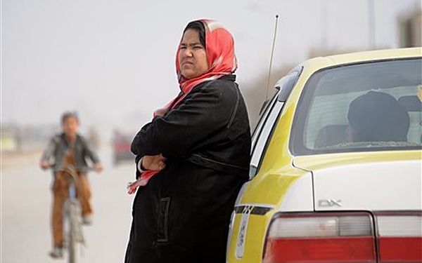 Shes the only female taxi driver in Afghanistan