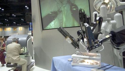 Image: Would you let a robot operate on you?
