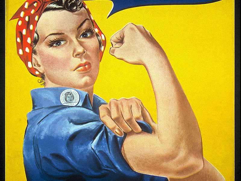 The Unsung Inspiration Behind The Real Rosie The Riveter Smart