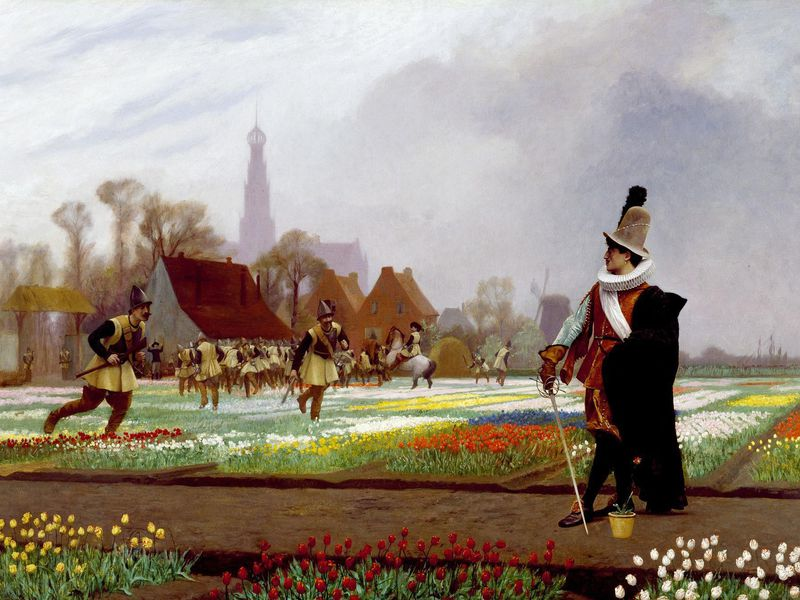 There Never Was a Real Tulip Fever | History | Smithsonian Magazine