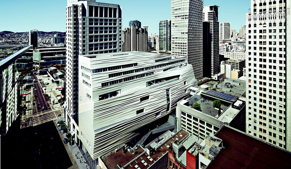 The newly remodeled San Francisco Museum of Modern Art will have more space on one floor than the entire previous museum.