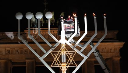 Image: Menorah lightings planned around the world for Hanukkah