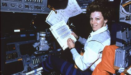 What It Was Like to Become the First Woman to Pilot and Command a Space Shuttle