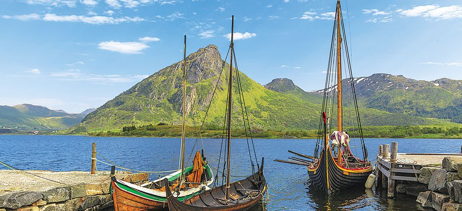 Scottish Isles and Norwegian Fjords <p>Uncover the ancient and tumultuous Viking legacy of remote seafaring destinations as you sail from the&nbsp;northern Scottish Isles to their&nbsp;Norwegian homelands.</p>