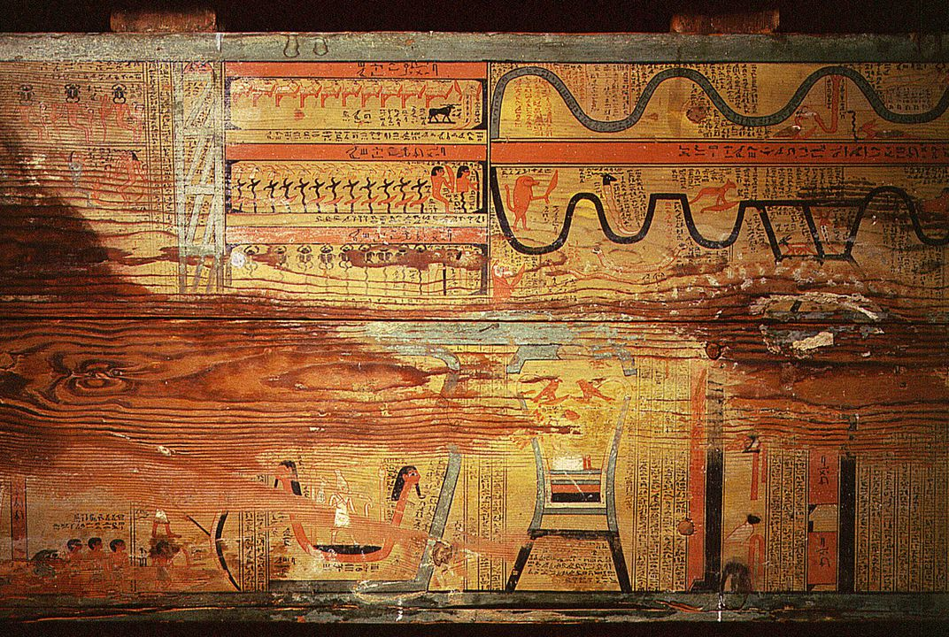 4,000-Year-Old Guide to the Ancient Egyptian Underworld May Be Oldest Illustrated 'Book'