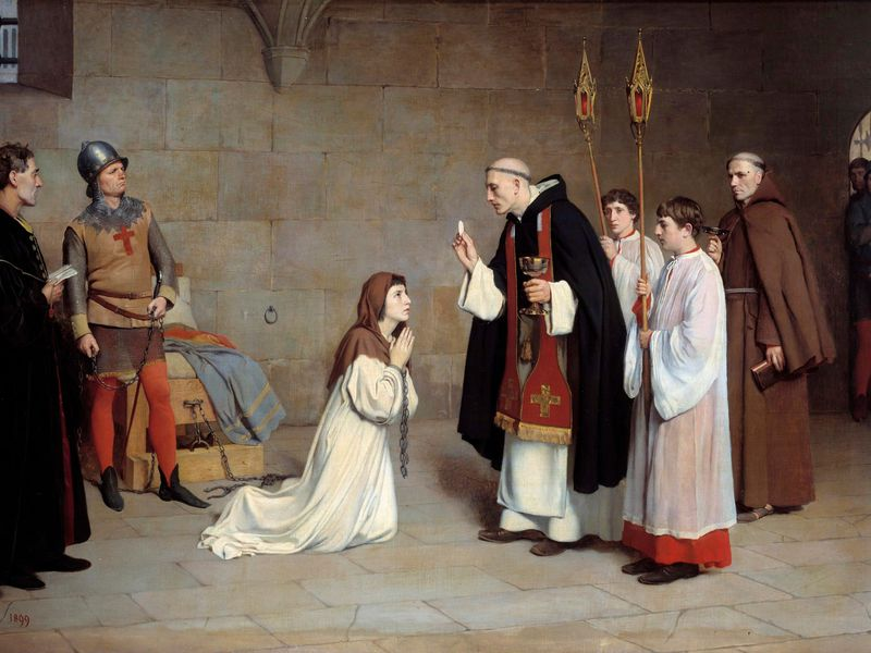 Last Communion of Joan of Arc