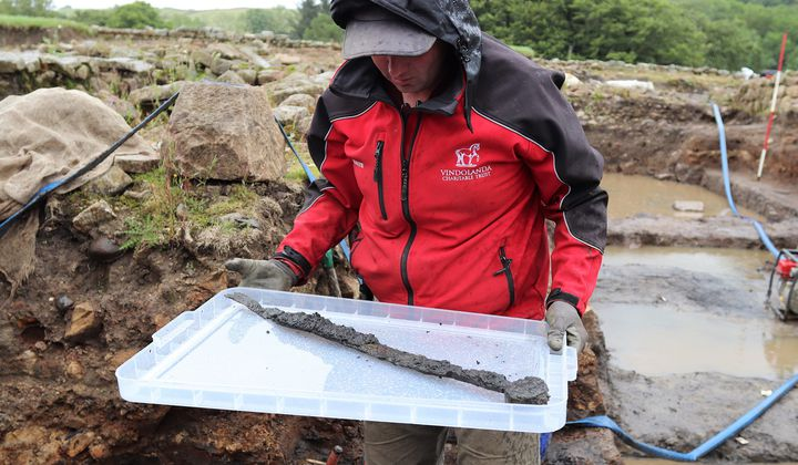 Rare Roman Cavalry Swords And Toys Unearthed
