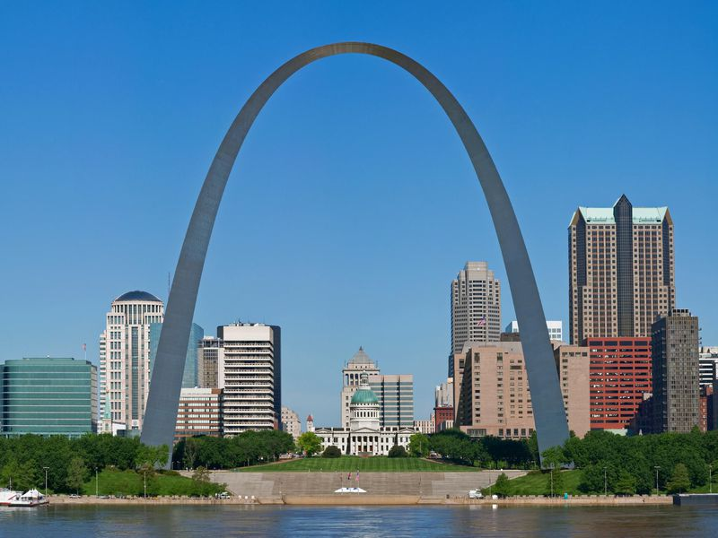 The twisted history of the gateway arch history for St louis architecture