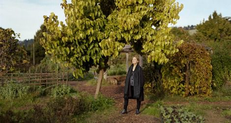 Alice Waters, by Dave Woody; 2010