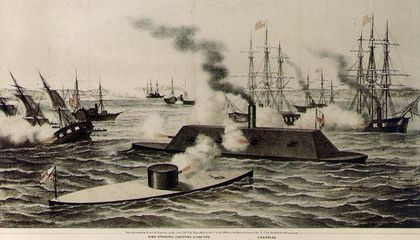 When the Union Ran Out of Ironclads, They Built Timberclads