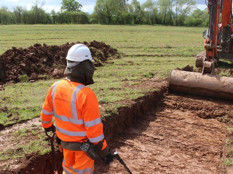 Artifacts from the Final Battle of the English Civil War Uncovered During Road Project