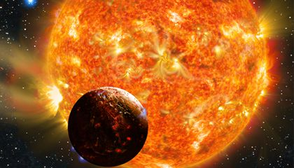 Astronomers Find an Earth-Size Lava World