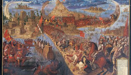Mexico City Marks 500th Anniversary of the Fall of Tenochtitlán