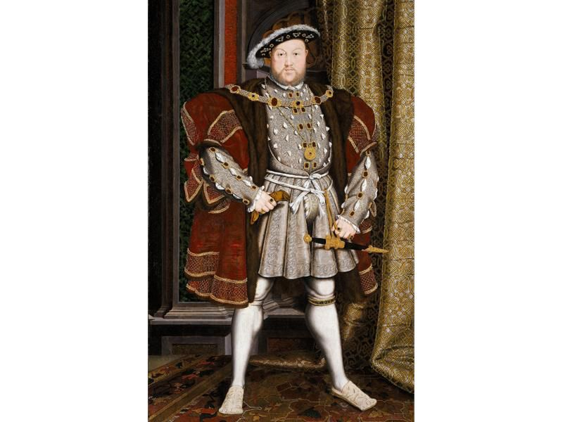 Portrait of Henry VIII after Hans Holbein the Younger, c.1537–1547