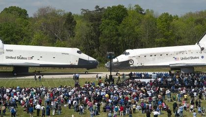 Discovery Joins the National Air and Space Museum