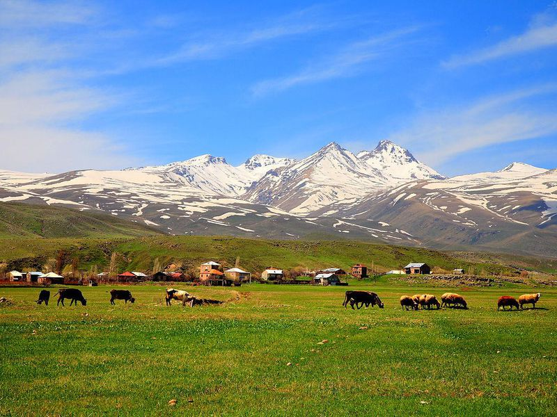 Aragats Mountains, Armenia