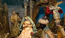 The Madonnas dress was previously damaged by light