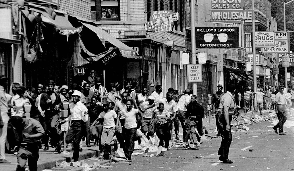 Over 7,000 Detroiters were arrested over the course of five days, some for looting.