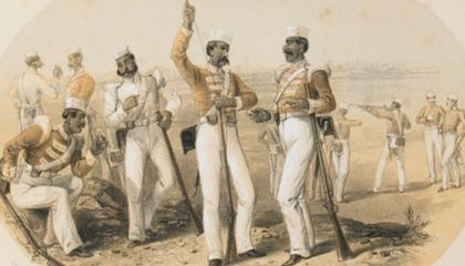 Pass it on: The Secret that Preceded the Indian Rebellion of 1857