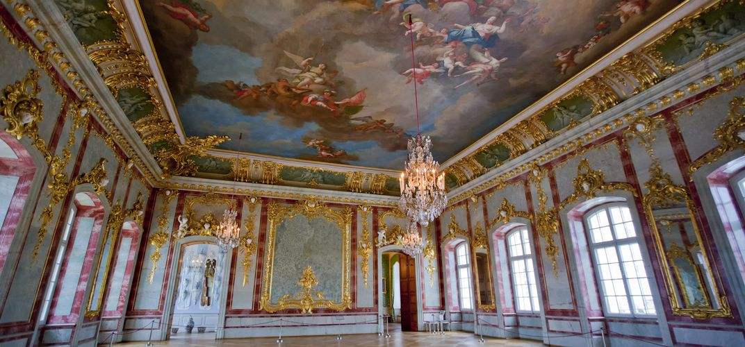 The ballroom of Rundale Palace