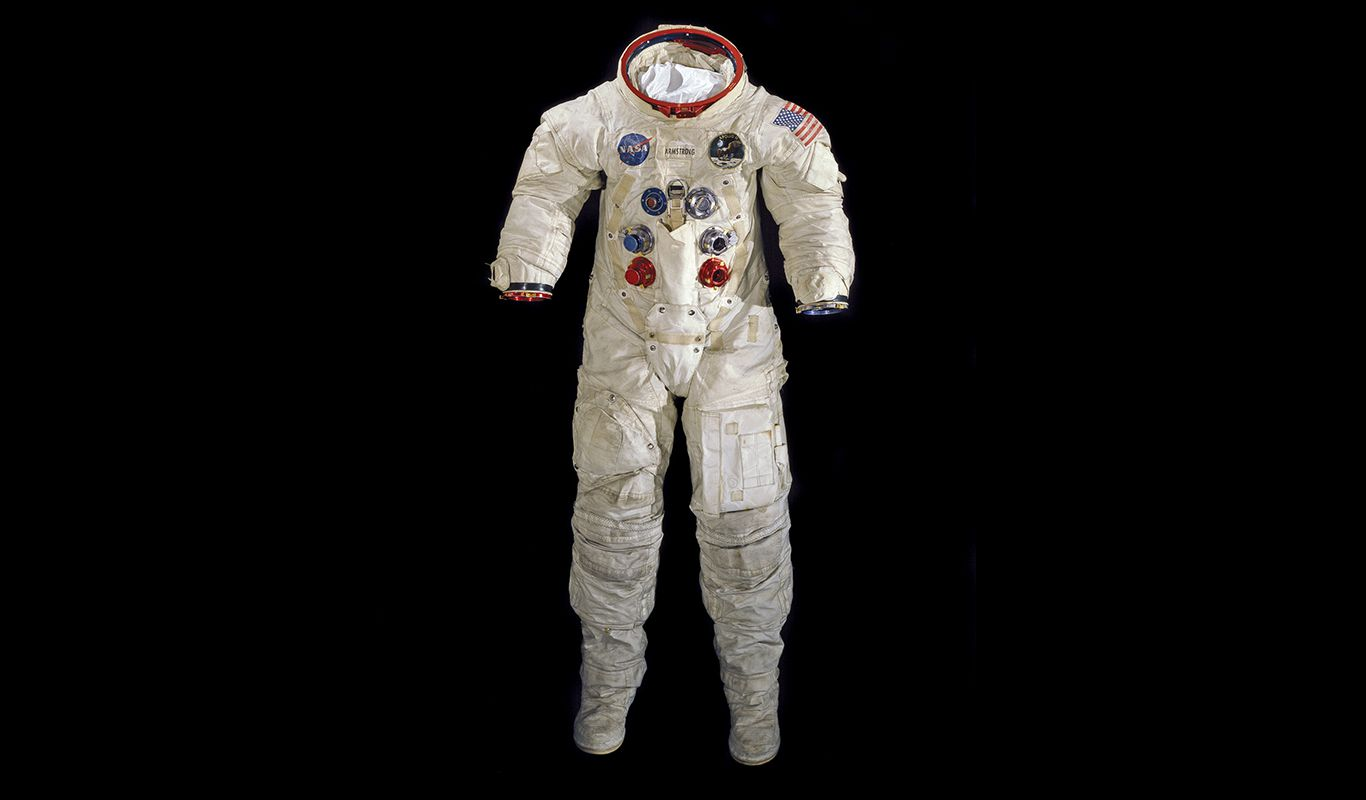 A Moonwalk Did Not Destroy Neil Armstrong's Spacesuit  Now
