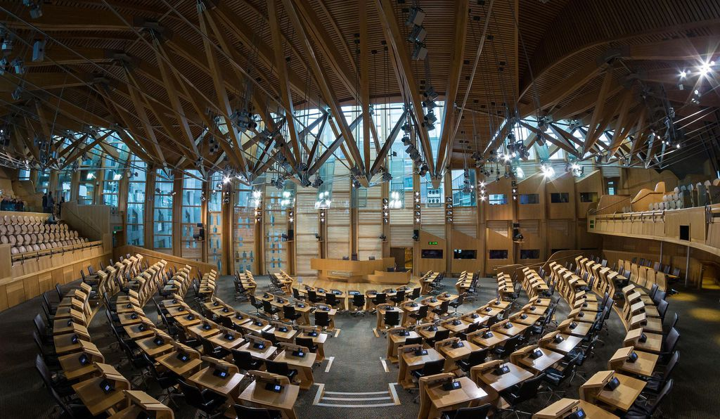 The first meeting of the devolved Scottish parliament took place on May 12, 1999.