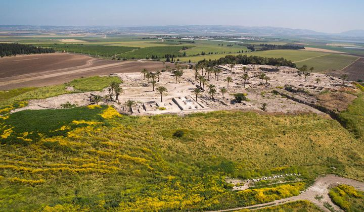 3,600-Year-Old Tomb Found Next to Canaanite Palace