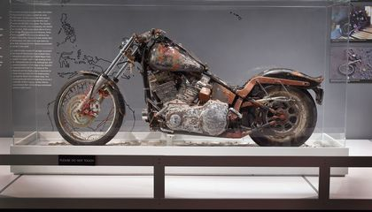 The Motorcycle That Rode the Tsunami