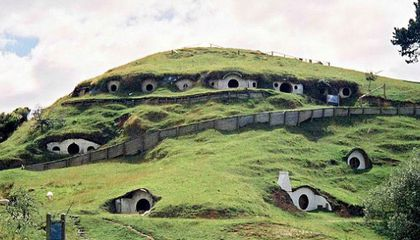 Real Life Hobbit Village Proves the Greenest Way to Live is Like Bilbo Baggins