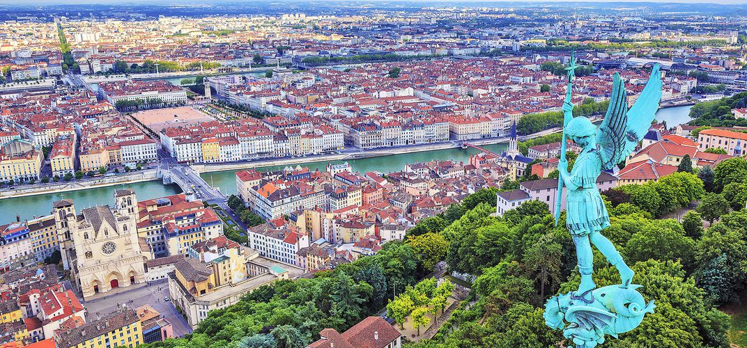 An Aerial View of Lyon