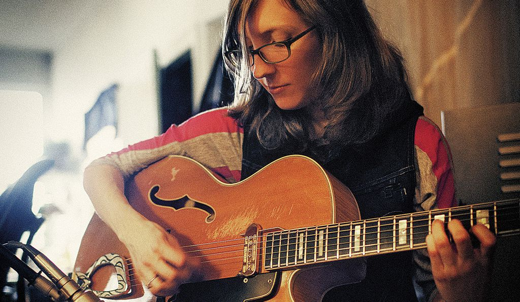 Jazz guitarist Mary Halvorson