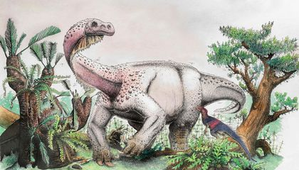 New Fossil Dubbed 'Giant Thunderclap at Dawn' Shows How Big Dinos Went From Two Legs to Four