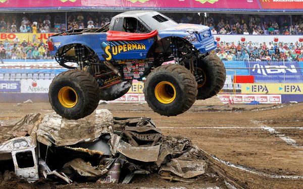 Were monster trucking the world