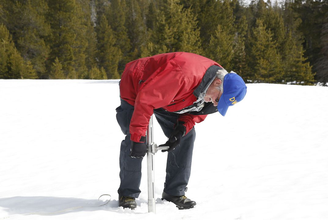 Californians depend upon diminished snow for water