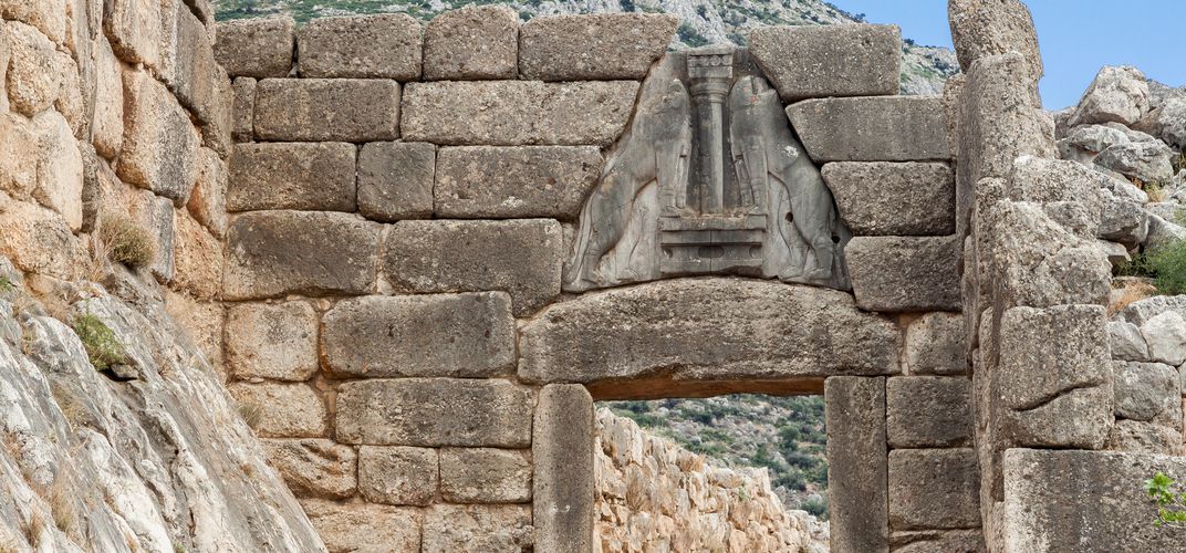 The Lion's Gate, Mycenae