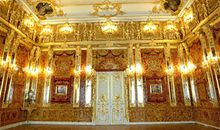 A replica of the Amber Room