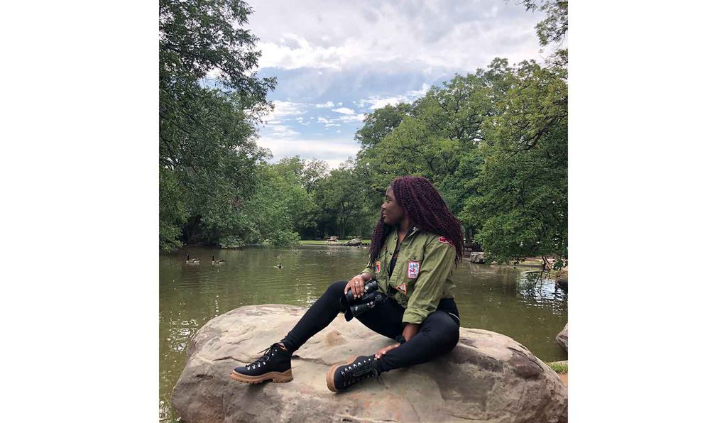 One of the Black Birders Week co-founders, Chelsea Connor, uses social media to showcase the valuable work that BIPOC contribute to conservation and encourage others to join STEM fields.