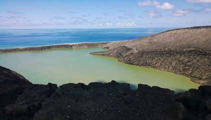 What's It Like to Take the First Photos of a New Volcanic Island?