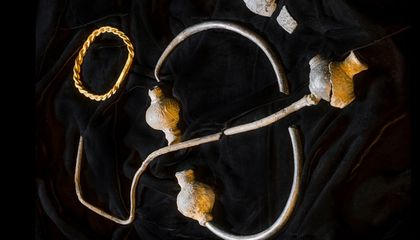 Amateur Treasure Hunter Finds Trove of 1,000-Year-Old Viking Jewelry