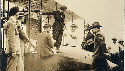 Tony Jannus, the world's first airline pilot.