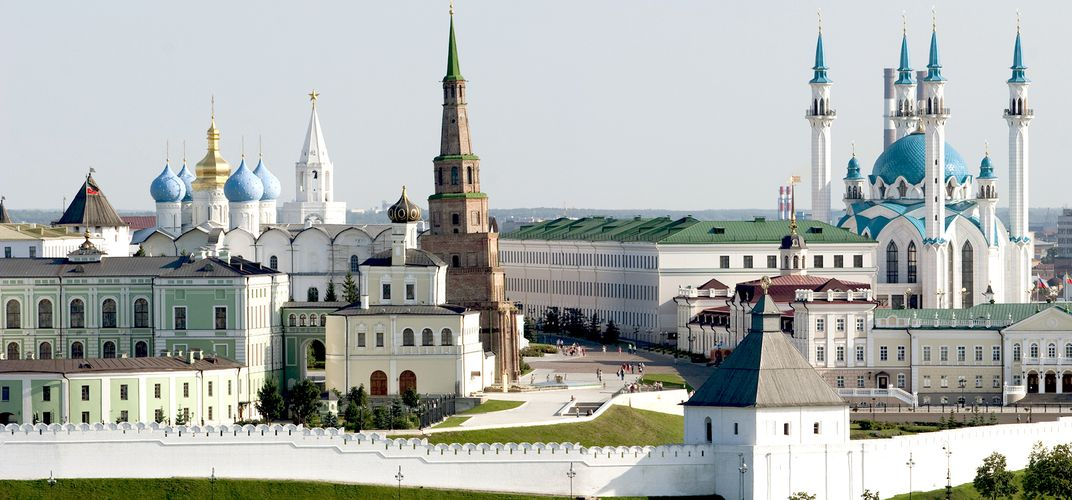 The Kremlin in Kazan