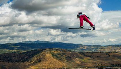 Falling With Style: The Science of Ski Jumping