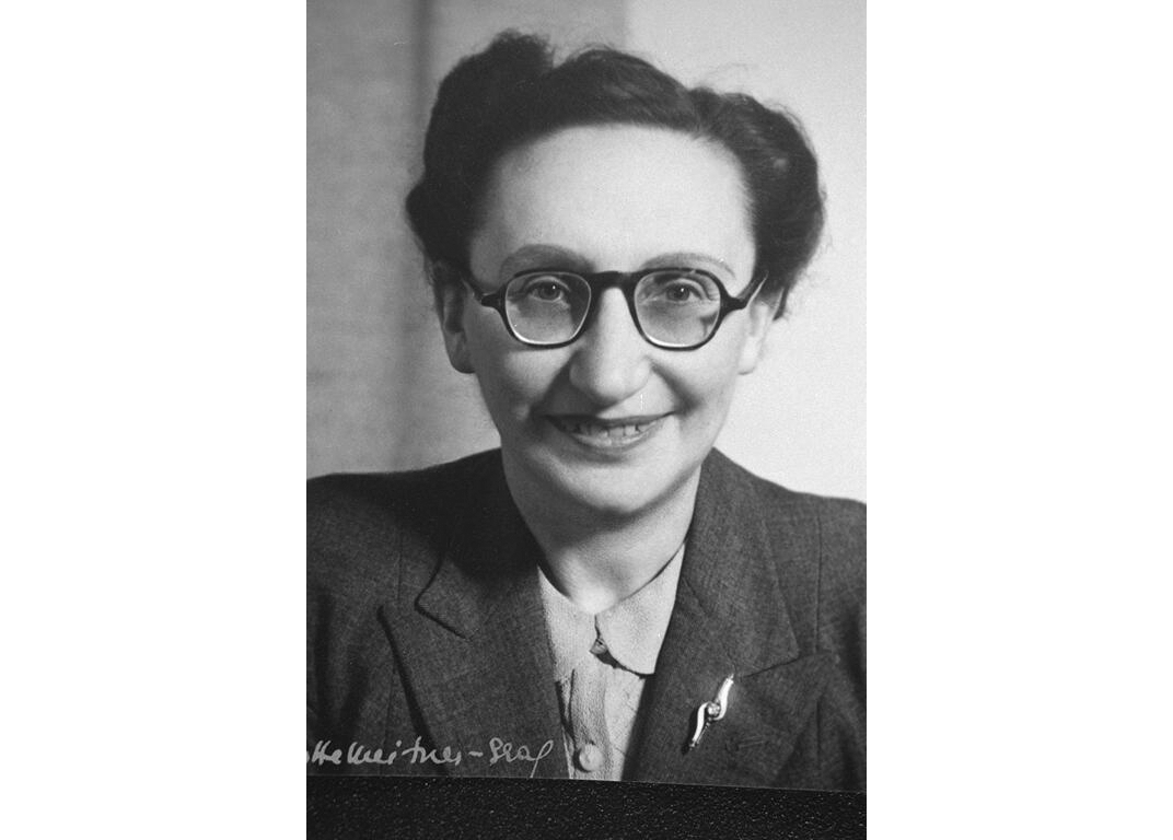Eva Reichmann c.1950s, who launched one of the earliest projects to collect eye-witness testimonies to the Holocaust, Wiener Library Collections.jpg