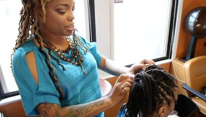 A Natural Hair Movement Takes Root