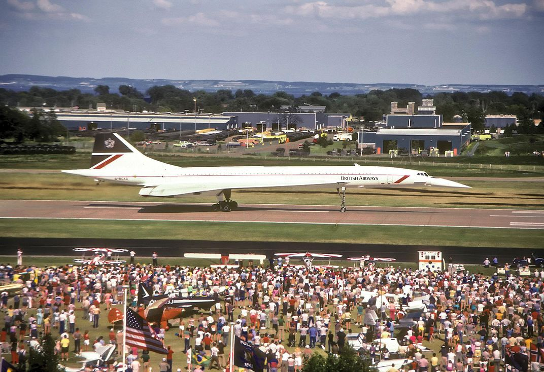 Concorde in 1985