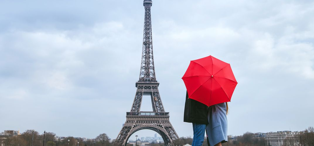 Caption: The Eiffel Tower Could Be Repainted Its Original Vibrant Color