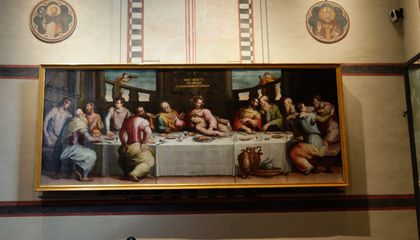 Major Renaissance Painting Restored 50 Years After It Was Covered in Flood Waters
