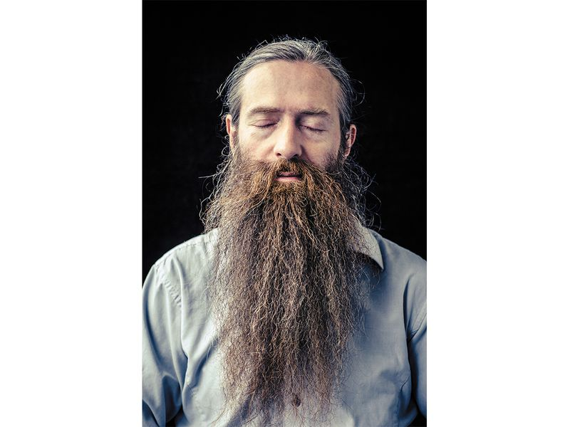 "Aubrey de Grey says, ""There's no such thing as aging gracefully."""